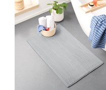 Comfortable Bath Mat, Grey