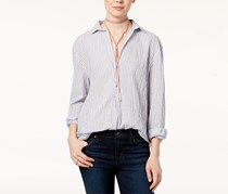 Joe's Dana Pinstripe Shirt, White