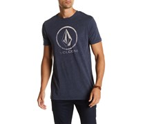 Volcom Men's Fall Stone Short Sleeve Tee, Gray