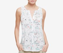 Sanctuary Craft Printed Shell Top, Day Dream