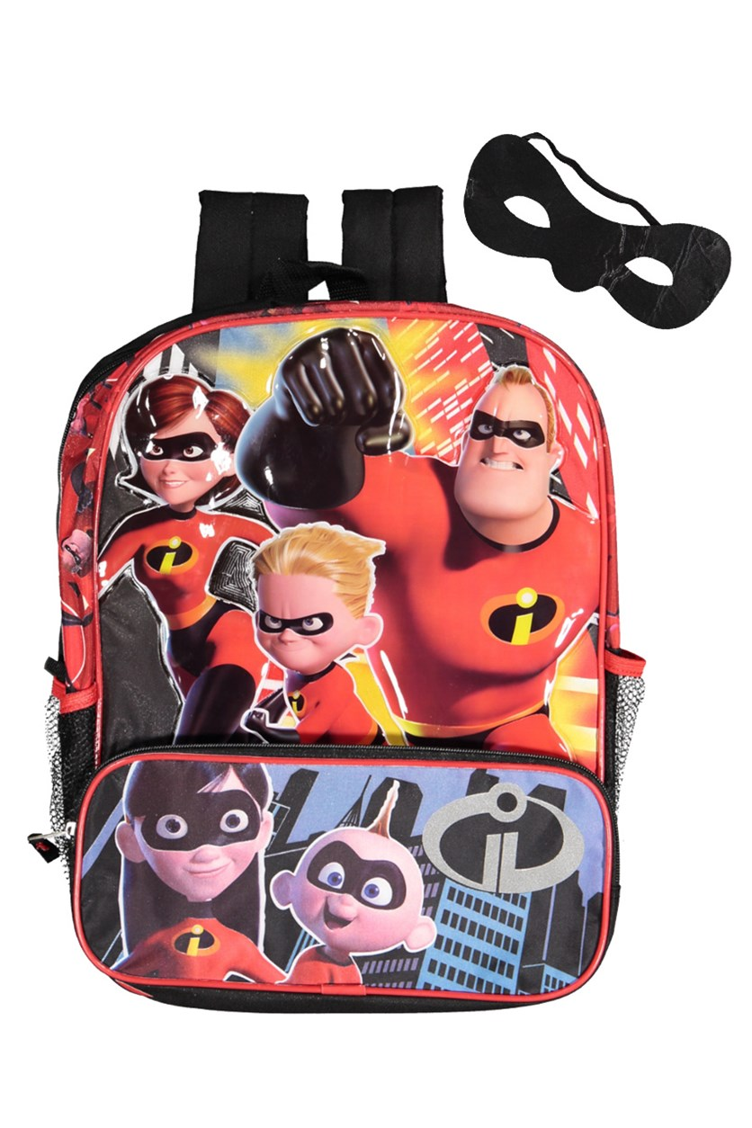 Kids Boys Incredibles 2 Backpack, Red Combo