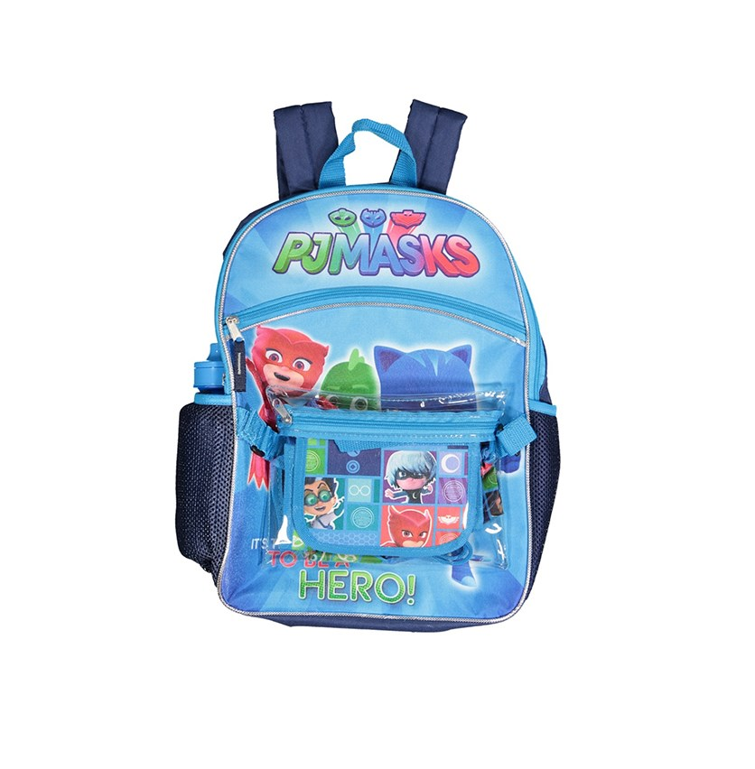 Kids Boys 5-Pc. Backpack & Accessories, Navy Blue