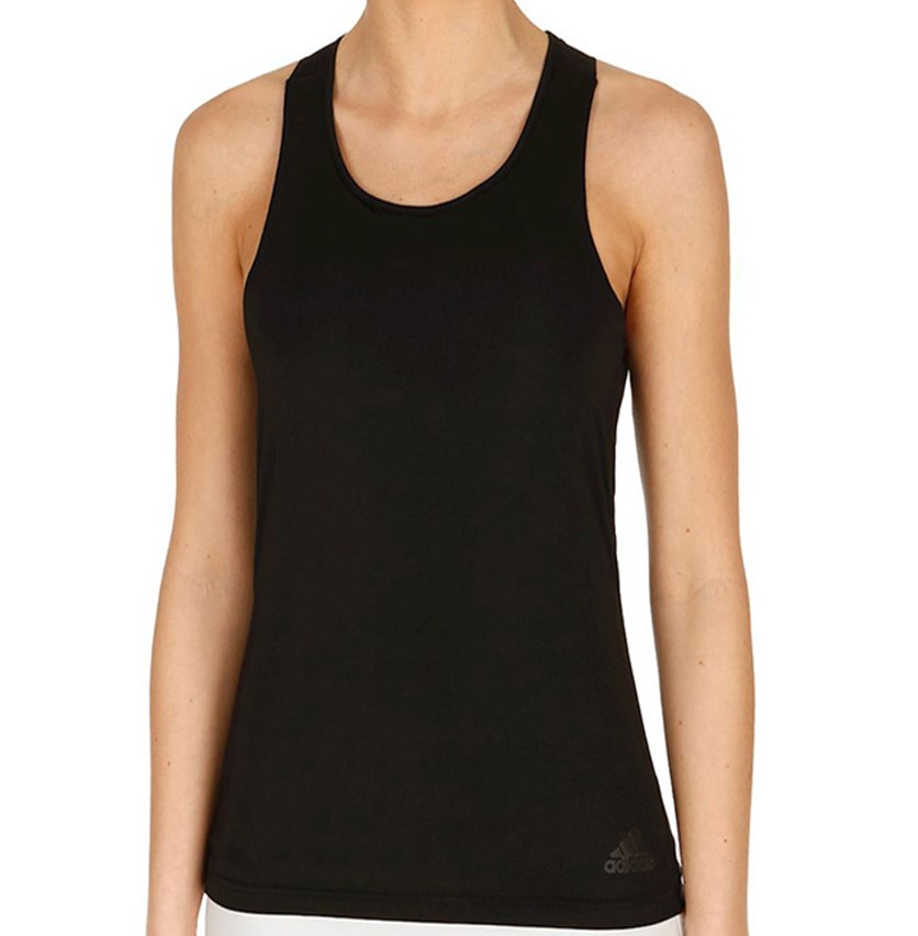 Women Tennis Clima Chill Sleeveless Tank Top, Black