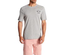 Reebok Men's Crew Neck Tee, Light Grey