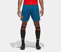 Adidas Men's  Spain Home Replica Short, Tribe Blue/Red/Bold Gold