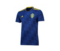 Adidas Men's Sweden 2018 Away Shirt, Blue