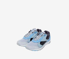 Reebok Men's Unisex Classic Inferno Sneakers/Track Shoes, Blue/Grey