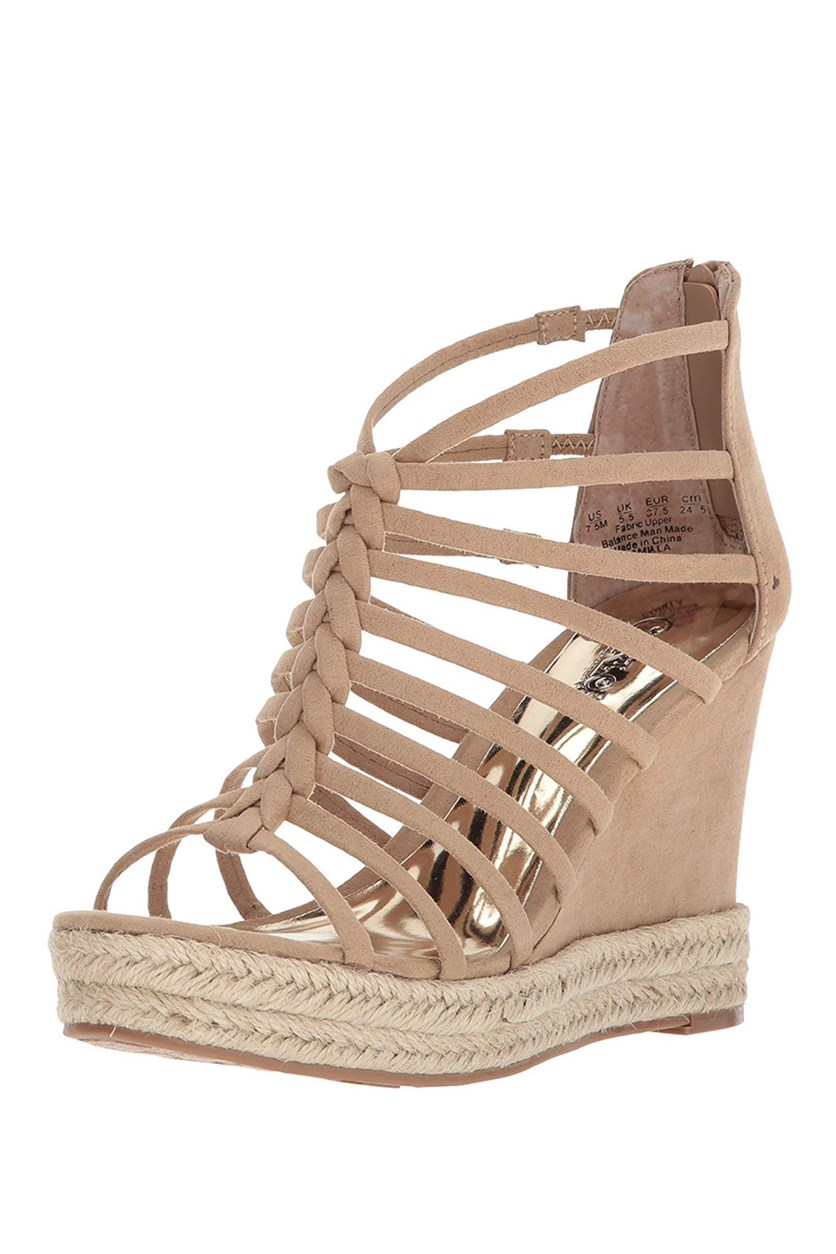 Women's Camilla Wedge Sandal, Sand