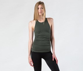 NUX Women's Spell Bound Cami Tee, Army