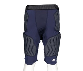 Adidas Climate Techfit Compression Football Padded Short, Navy