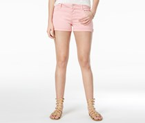 Celebrity Pink Women's Cuffe Denim Shorts, Quartz Pink