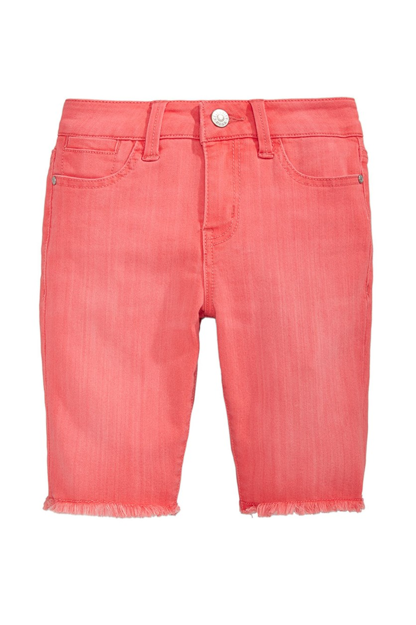 Big Girls Bermuda Shorts, Coral Light