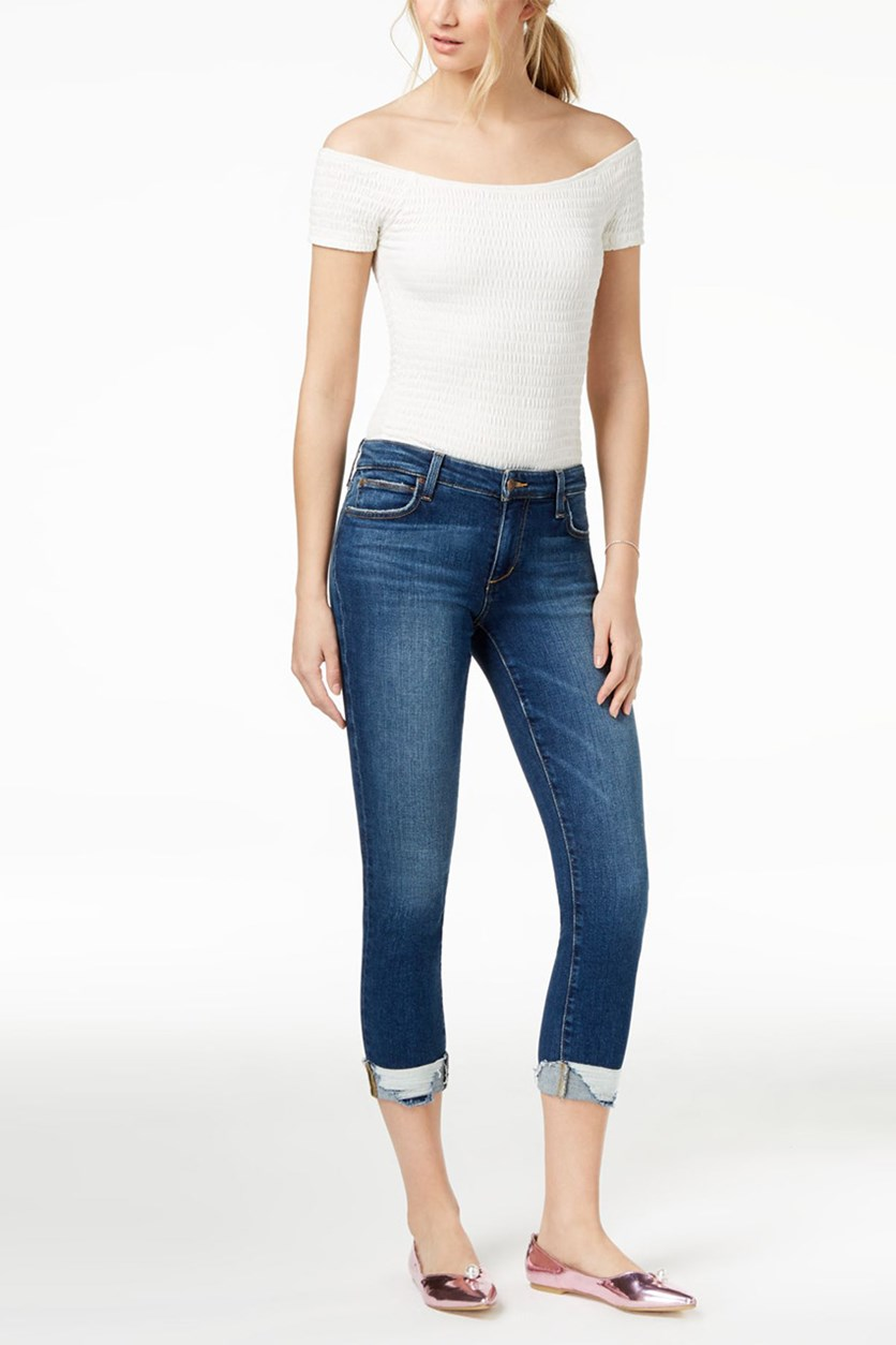 Joes Jeans The Icon Crop Cuffed Jeans, Theodora