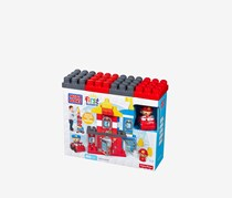 Mega Bloks First Builders Rescue Squad Building Set, Red Combo