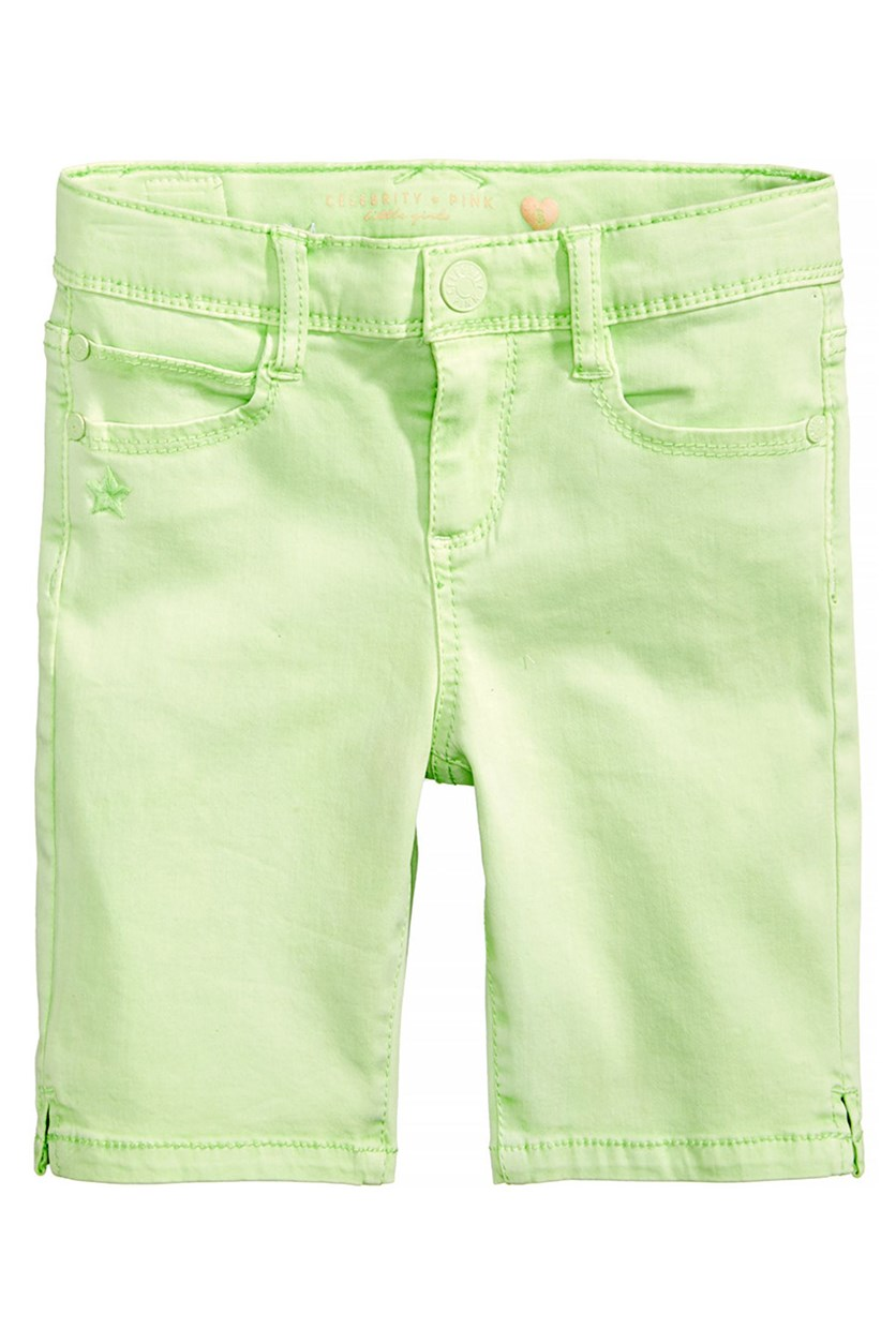 Twill Bermuda Shorts, Light Mint