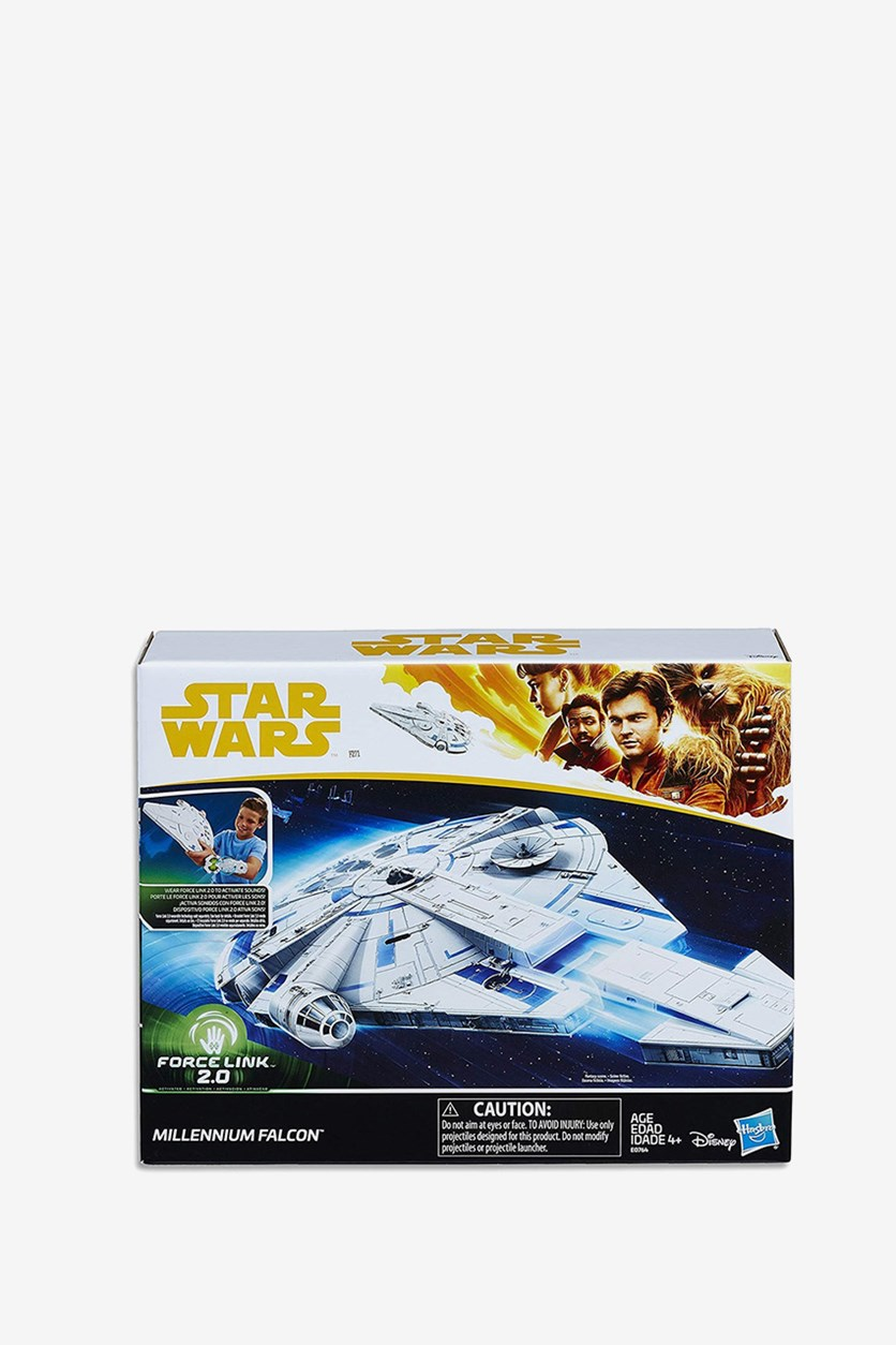 Force Link 2.0 Millennium Falcon with Escape Craft, Blue Combo