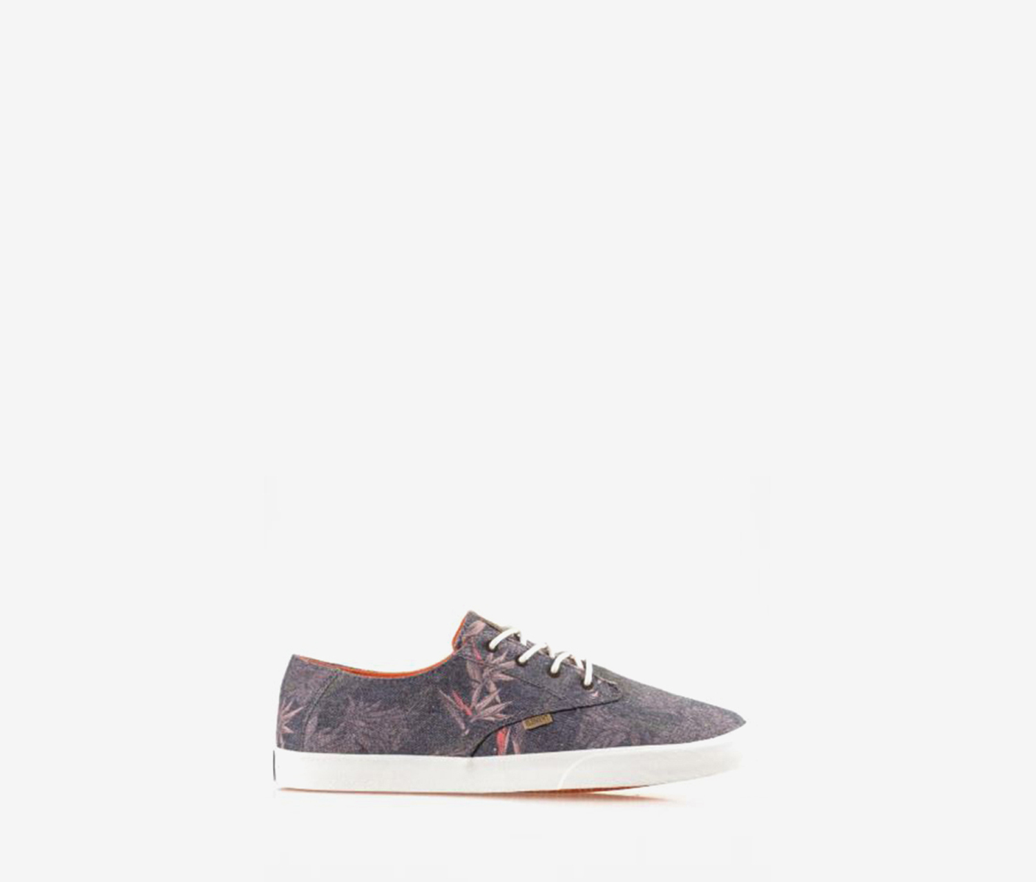 Element Men's Vernon Floral Shoes, Grey/Orange