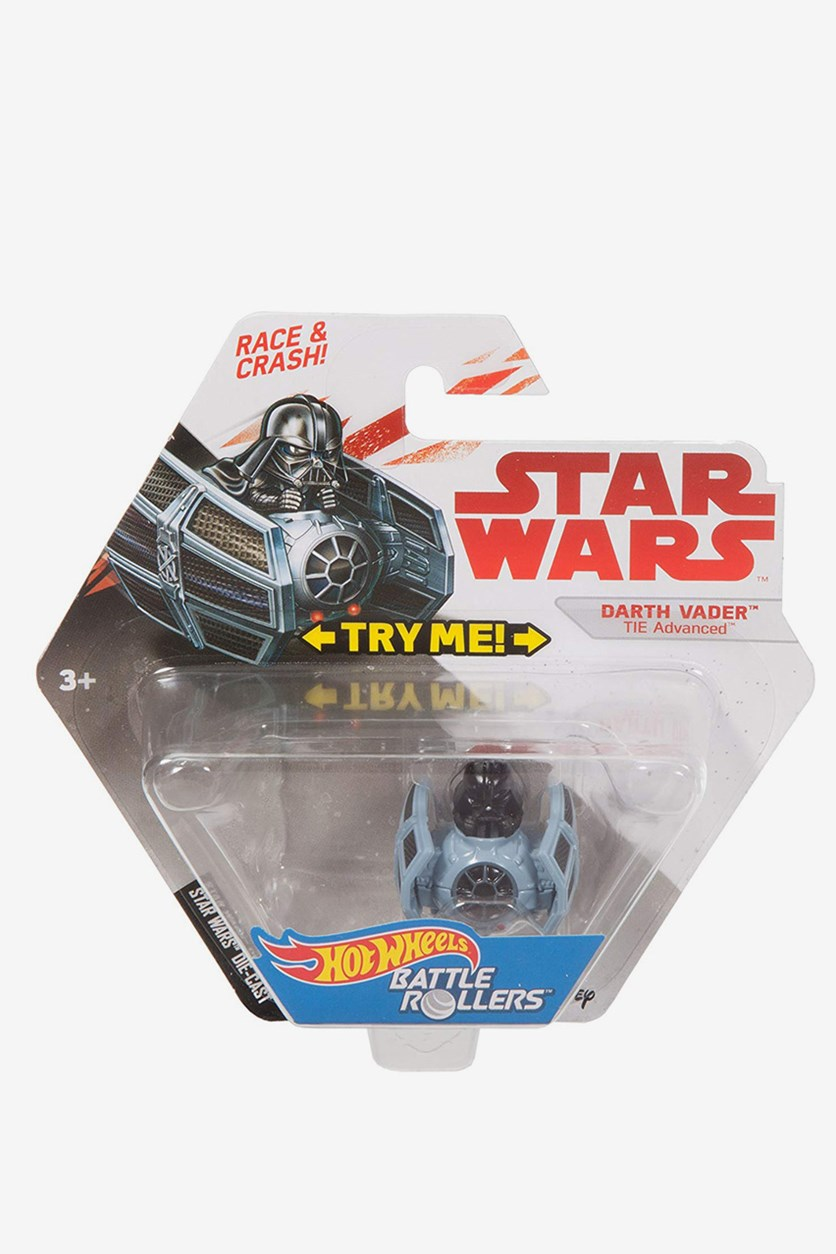 Hot Wheels Star Wars Darth Vader Vehicle, Black Combo