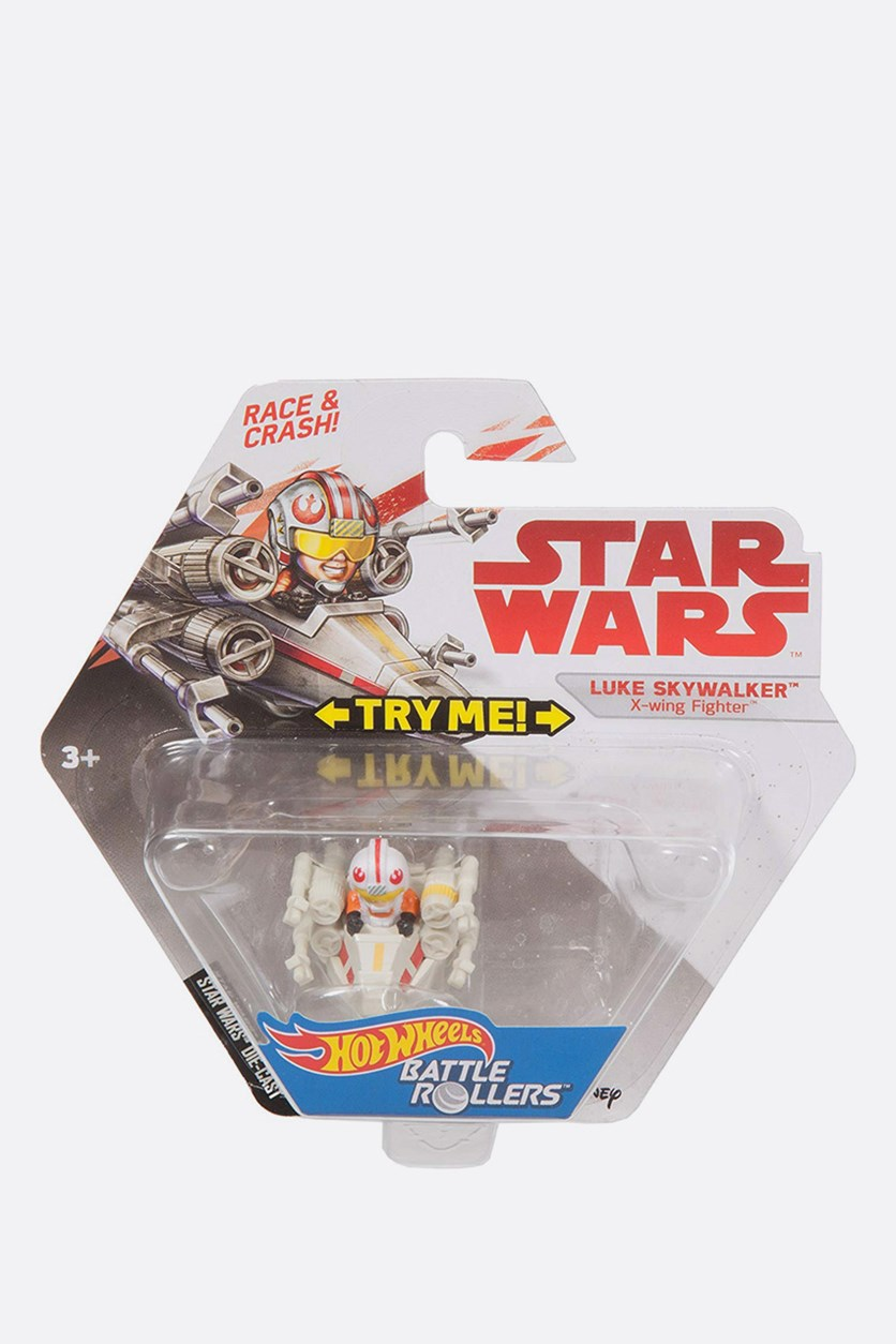 Hot Wheels Star Wars Luke Skywalker Battle Roller, Combo