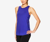 Gaiam Bailey Mesh-Trimmed Tank Top, Royal Blue