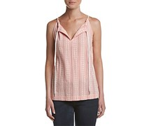 G.H. Bass & Co. Women's Embroidered Tank, Rose