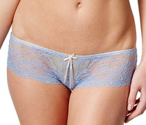 Heidi Klum Women's French Lace Hipster, Light Blue