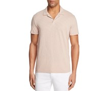Theory Willem Short Sleeve Polo Shirt, Lotus Cosmos