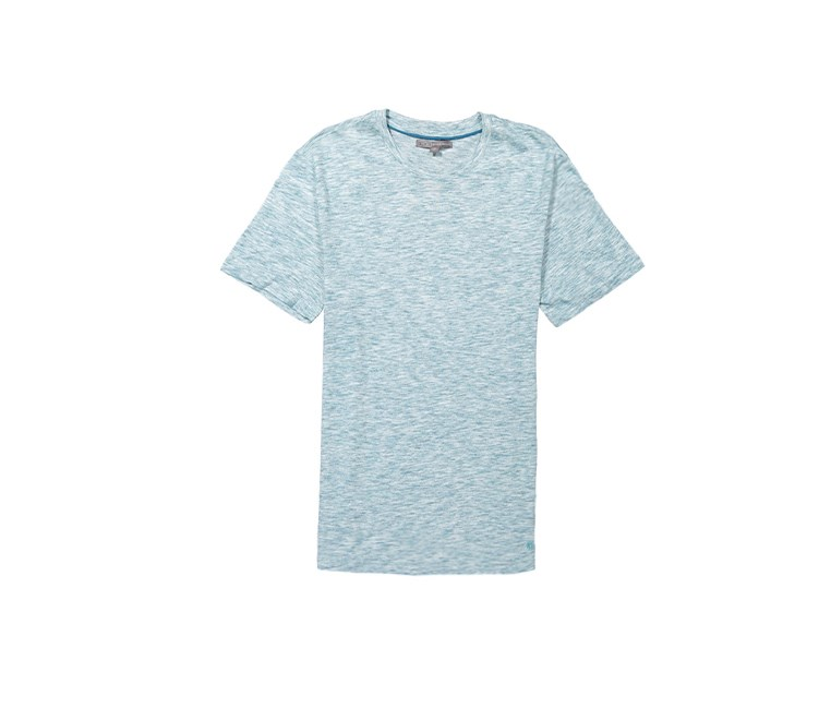 IKE By Ike Behar Men's Heather Shirt, Aqua