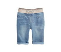 Imperial Star Girls Denim-Look Knit Bermuda Shorts, Bobby