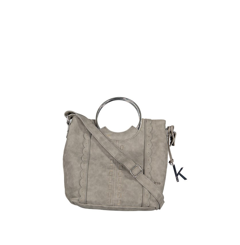 Women's BoraBora Top Handle Tote, Charcoal