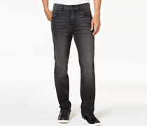 Club Room Men's Slim-Fit Stretch Jeans,  Charcoal Wash