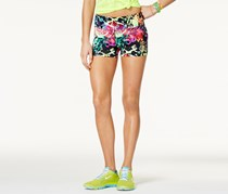Material Girl Active Juniors' Graffiti Graphic Yoga Shorts, Graffiti