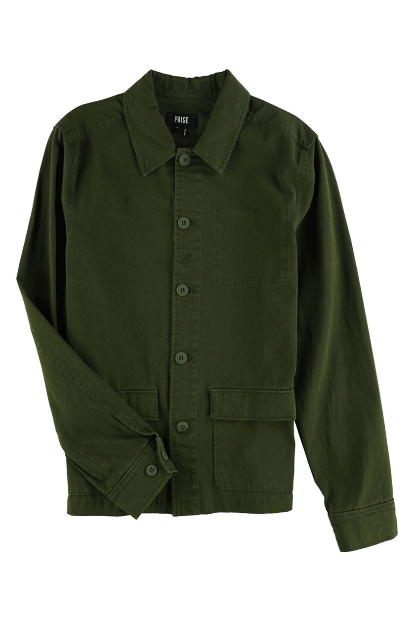 Dalton Shirt Jacket, Faded Forest