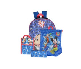 Kids  Boys 5-Pc. Backpack, Blue Combo