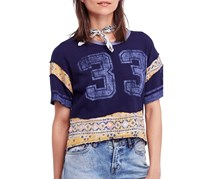Free People Nicky T-Shirt, Blue Combo
