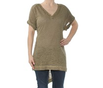 Women Free People Diego V-Neck Tunic, Green
