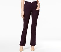 Lee Platinum Label Petite Gwen Straight-Leg Jeans, Regal