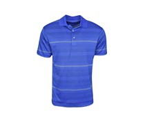 PGA Tour Men's Big & Tall Roadmap Stripe Polo, Sodalite Blue