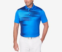 PGA TOUR Mens Energy Printed Performance, Electric Blue