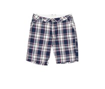 House Men's Shorts, Navy/White