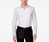 Tallia Mens Slim-Fit Solid Shirt, White
