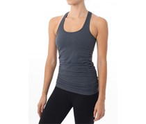 Nux Women's Charmed Tank, Dark Grey