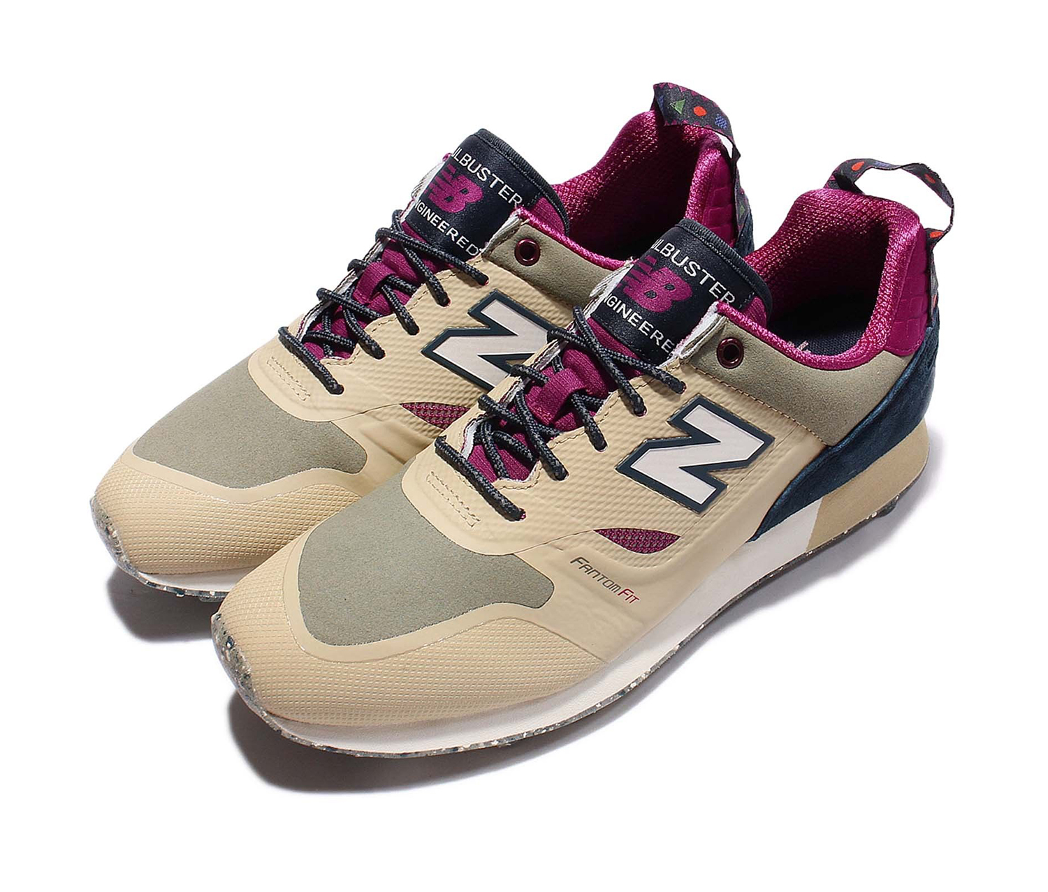 New Balance Men's Trail buster Re-Engineered Dust Running Shoes, Dust Purple