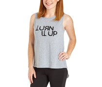 Tahari Sports Women's 'Turn It Up' Tank, Light Heather Grey