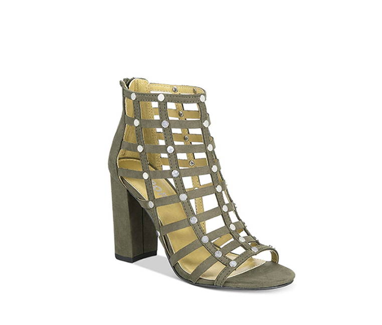 Report Women's Wesley Caged Sandals, Olive