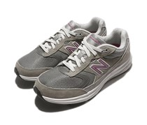 New Balance Women's Running Shoes Sneakers, Grey/Pink
