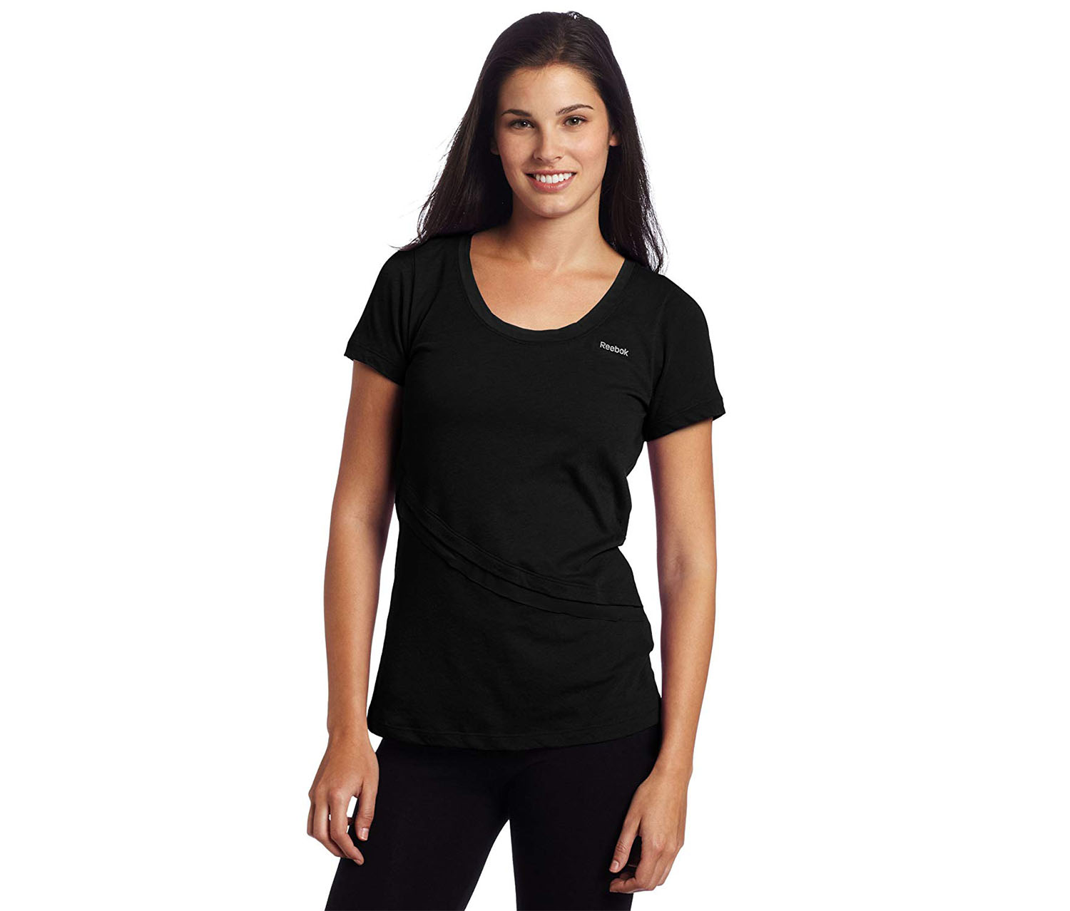 Reebok Women's Sport T-Shirt, Black