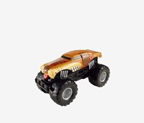 Mattel Hot Wheels Monster Jam Monster Mutt Sound Smashers Truck, Brown/Black