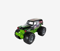 Mattel Hot Wheels Monster Jam Grave Digger Sound Smashers Vehicle, Green/Black