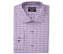Alfani Men's Classic/Regular Fit Dress Shirt, Purple